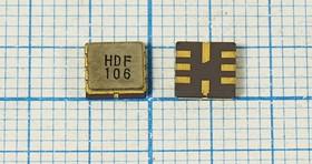 Фильтр на ПАВ 147МГц, полоса 8000кГц/3дБ, SMD 5x5мм, SAW ф 147000 \пол\ 8000/3\S05050C8\\ HDF147S3\\(HDF106)