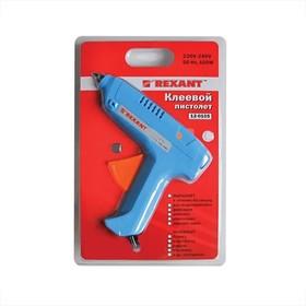 Клеевой пистолет 100 Вт для стержня 11 мм, REXANT, в блистере