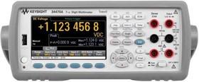 34470A, Мультиметр цифровой Truevolt, 7.5 разрядов (Госреестр)