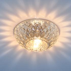 1101 G9 CL прозрачный, Точечный светильник со стеклом