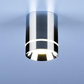 Фото 1/9 DLR021 9W 4200K / Светильник светодиодный стационарный хром