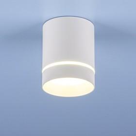 Фото 1/6 DLR021 9W 4200K / Светильник светодиодный стационарный белый матовый