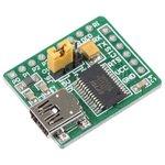 Фото 4/4 MIKROE-483, USB UART Board, Плата преобразователя интерфейса USB UART на базе FT232R