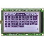 Фото 4/4 MIKROE-762, SmartGLCD 240x128 Board, Плата с дисплеем на базе PIC18F8722 для разработки графических приложений