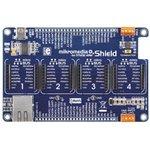 Фото 6/6 MIKROE-1417, mikromedia Plus for STM32 Shield, Плата раширения для mikromedia Plus for STM32 c 4 разъемами mikroBUS, CAN и Ethernet интерфе