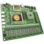Фото 2/2 MIKROE-1205, EasyPIC Fusion v7, Полнофункциональная отладочная плата для изучения МК Microchip dsPIC33, PIC24 и PIC32