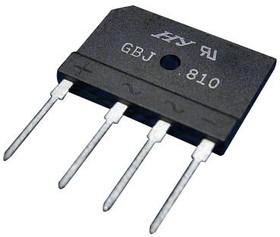 GBJ1006-BP, BRIDGE RECTIFIER, 10A, 600V