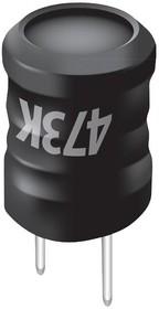Фото 1/2 RL622-470K-RC, RF Choke Wirewound 47uH 10% 2.52MHz 30Q-Factor Ferrite 1.4A 0.16Ohm DCR RDL Bag