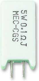 SQMW54R7J, Резистор в сквозное отверстие, 4.7 Ом, 350 В, Радиальные Выводы, 5 Вт, ± 5%, Серия SQ