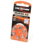 ANSMANN Zinc-Air 5013243 13 UK BL6, Элемент питания