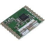 Фото 2/2 RFM67W-868S2, передатчик 868МГц FSK/GFSK/MSK/GMSK/OOK SPI