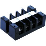 1204, TERMINAL BLOCK, BARRIER, 4 POSITION, 18-4AWG