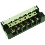 1606SC, TERMINAL BLOCK, BARRIER, 6 POSITION, 22-10AWG