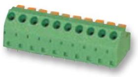 MFKDSP/ 7-5,08, Клеммная колодка типа провод к плате, 5.08 мм, 7 вывод(-ов), 22 AWG, 18 AWG, 1.5 мм², Вставной