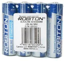 Фото 1/2 ROBITON STANDARD LR6 SR4, Элемент питания