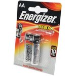 Energizer MAX+Power Seal LR6 BL2, Элемент питания