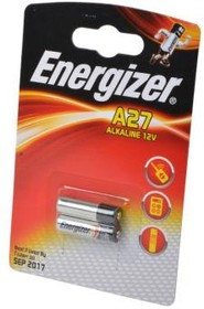 Фото 1/2 Energizer Alkaline A27 BL2, Батарея