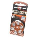 ANSMANN Zinc-Air 5013233 312 UK BL6, Элемент питания
