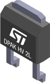 STPSC2H12B-TR1, Карбидокремниевый диод Шоттки, Одиночный, 1.2 кВ, 2 А, 15.6 нКл, TO-252