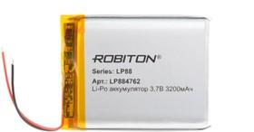 LP884762, Аккумулятор литий-полимерный (Li-Pol) 3200мАч 3.7В, с защитой   купить в розницу и оптом