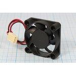 Фото 4/5 Вентилятор 12 Вольт с контролем скорости,шариковый подшипник,6000об/мин, ВН035B вент 40x40x10\ 12В\0,8Вт\3L+HU3\ ШП\KF0410B1HS-R\