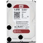 """Жесткий диск 3.5"""" WD Red WD10EFRX, 1Тб, HDD, SATA III"""