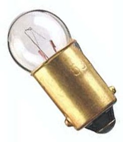 53, LAMP, INCANDESCENT, MINI BAYONET/BA9S, 1