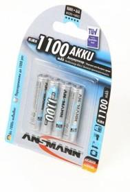 Фото 1/2 ANSMANN 5035232-RU 1100 AAA BL4, Аккумулятор (упаковка из 4)