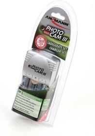 Фото 1/2 ANSMANN 5007093 PhotoCam III/2850 BL1, Зарядное устройство с аккумуляторами