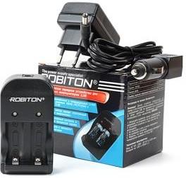 Фото 1/2 ROBITON SmartRCR123, Зарядное устройство