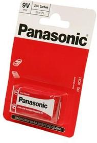 Фото 1/2 Panasonic Zinc Carbon 6F22RZ/1BP R6F22RZ BL1, Батарея