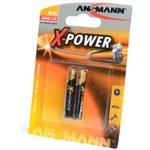 ANSMANN X-POWER 1510-0005 AAAA BL2, Элемент питания