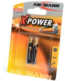 Фото 1/2 ANSMANN X-POWER 1510-0005 AAAA BL2, Элемент питания
