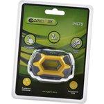 GARIN LUX HL7S налобный 2Вт, с сенсорной кнопкой BL1, Фонарь