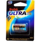 Kodak MAX Lithium CR123 BL1, Элемент питания