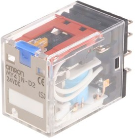 MY4IN-D2 24DC[S], Реле электромеханическое