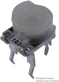 36FR10KLF, Подстроечный потенциометр, 10 кОм, 1 виток(-ков), Сквозное Отверстие, 36 Series, 300 мВт, ± 20%