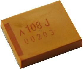 Фото 1/2 TCN3108M006R0100, Танталовый полимерный конденсатор, 1000 мкФ, 6.3 В, TCN Series, ± 20%, 3, 0.1 Ом