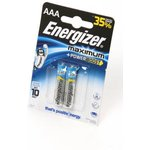 Energizer Maximum+Power Boost LR03 BL2, Элемент питания