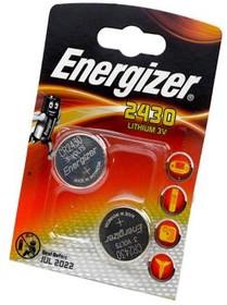 Energizer CR2430 BL2, Элемент питания