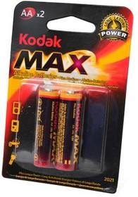 Фото 1/2 Kodak Max LR6 BL2, Элемент питания