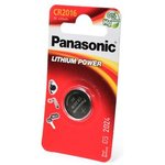 Panasonic Lithium Power CR-2016EL/1B CR2016 BL1, Элемент питания