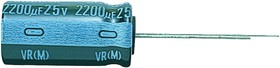 UVR1E221MPD1TD, ALUMINUM ELECTROLYTIC CAPACITOR 220UF, 25V, 20%, RADIAL