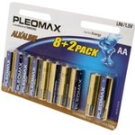 PLEOMAX LR6-8+2 BL10, Элемент питания