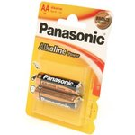 Panasonic Alkaline Power LR6APB/2BP RU LR6 BL2, Элемент питания