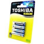 TOSHIBA Alkaline LR03GCNN BP-4 SS LR03 BL4*, Элемент питания