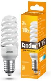 Фото 1/2 Camelion LH20-FS-T2-M/827/E27 MINI BL1, Лампа