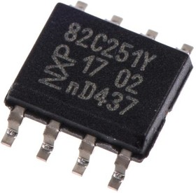 PCA82C251T/YM, CAN TRANSCEIVER, 1MBPS,24V,SOIC8