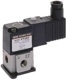 VT307V-5DZ1-02F-Q, G1/4, 3/2 solenoid valve