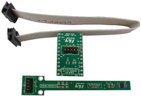 Фото 1/2 STEVAL-MKI204V1K, Evaluation Kit,STLM75 Temperature Sensor, Temperature Probe Kit, DIL-24 Footprint